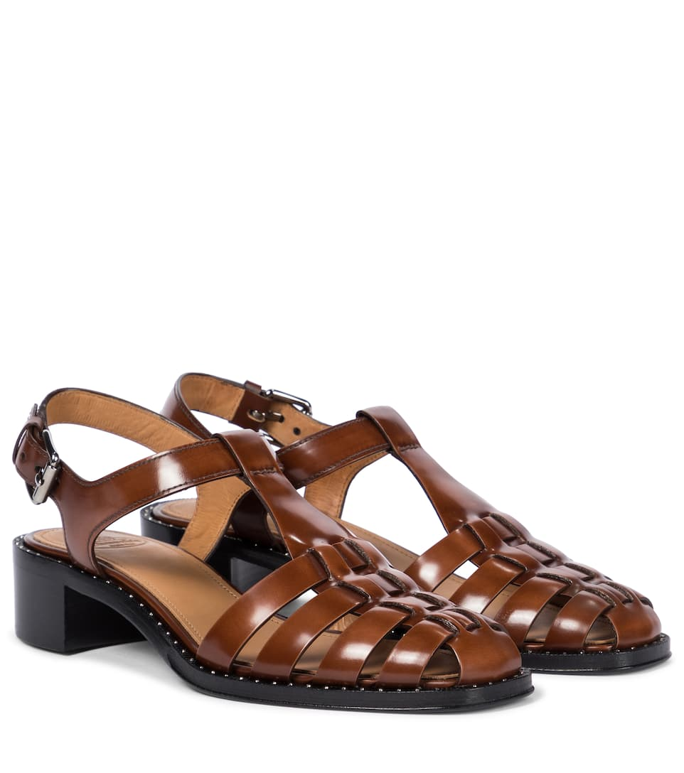 Church's GENNY LEATHER SANDALS