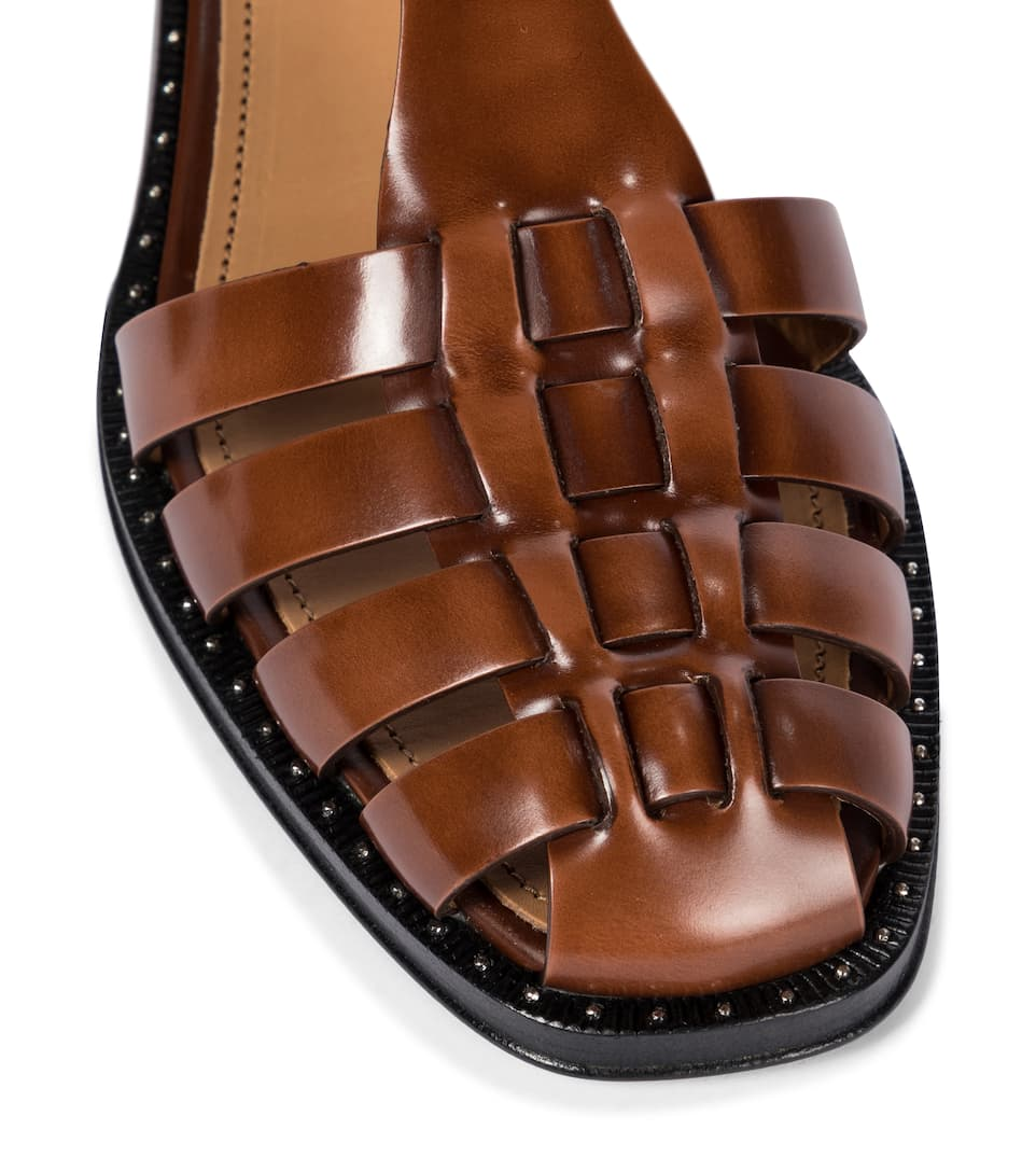 CHURCH'S Shoes GENNY LEATHER SANDALS