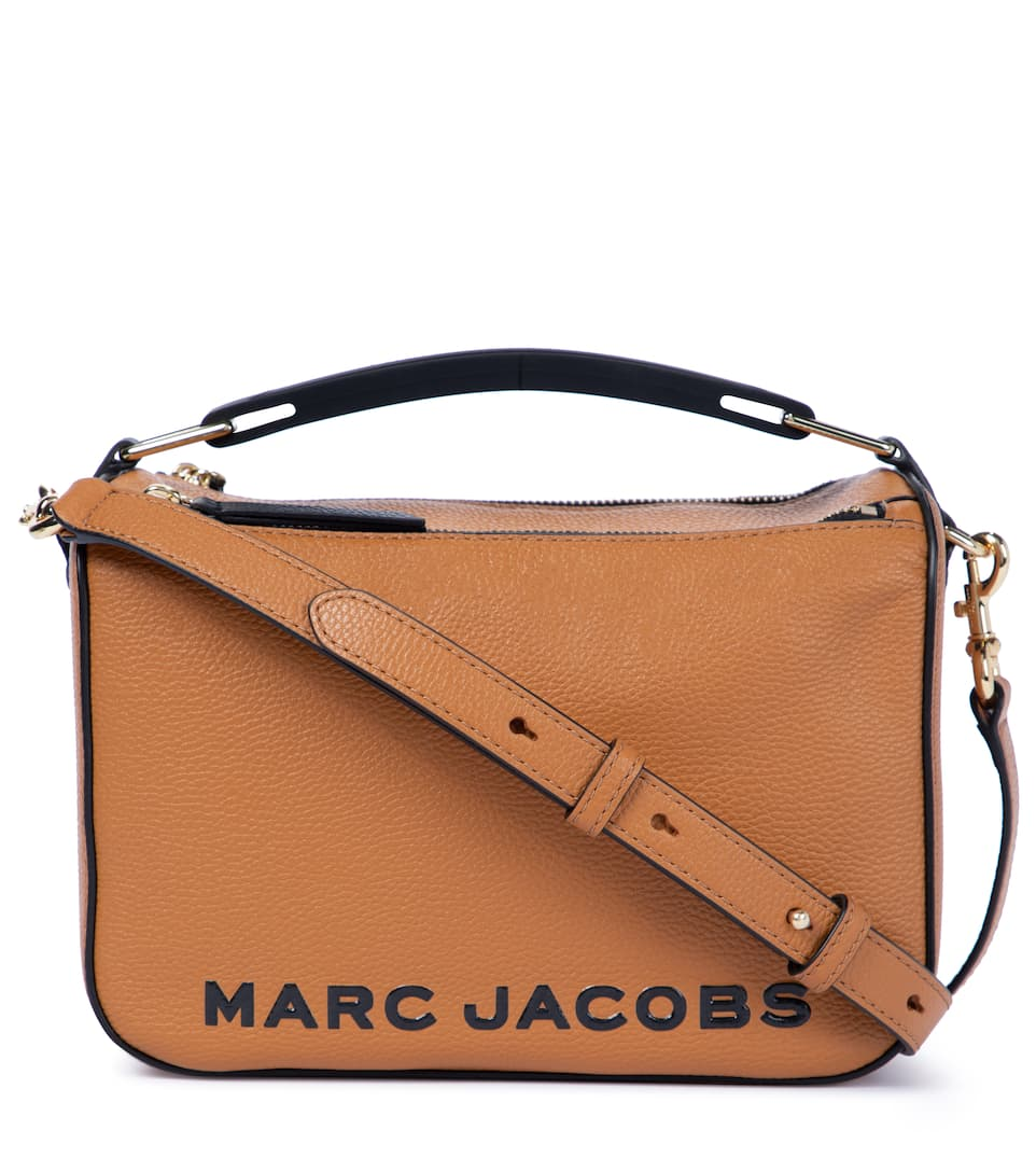 Marc Jacobs THE SOFTBOX LEATHER SHOULDER BAG