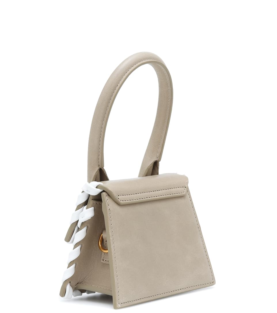 JACQUEMUS Leathers LE CHIQUITO LEATHER TOTE