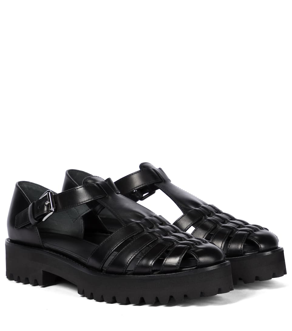 Church's KELSEY LEATHER SANDALS