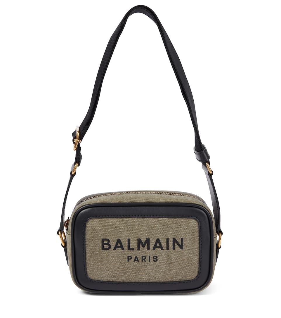 Balmain Bags B-ARMY 18 CANVAS CAMERA BAG