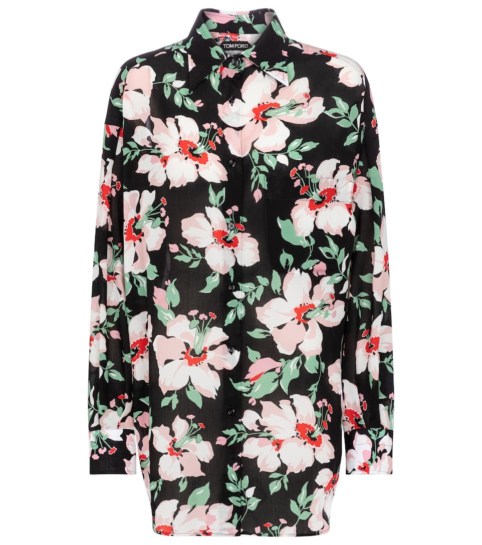 Tom Ford FLORAL SHIRT