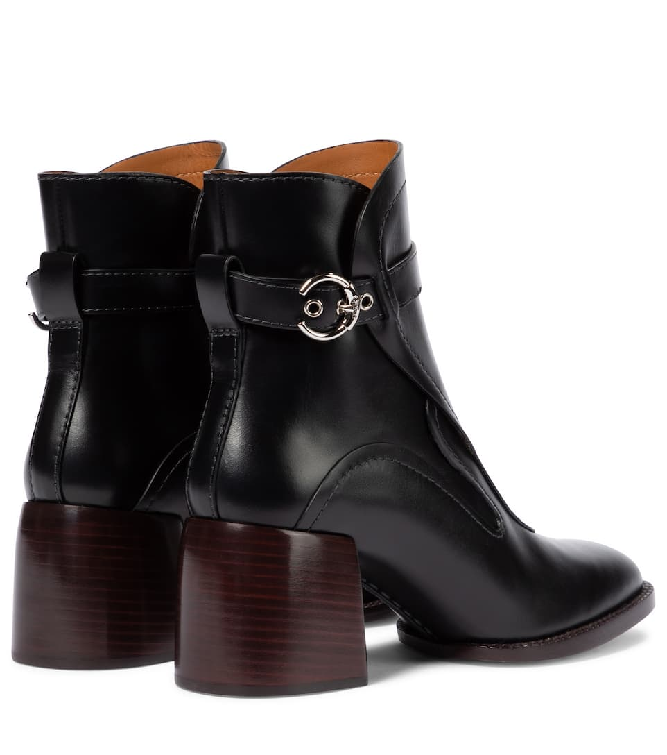 CHLOÉ Shoes GAILE LEATHER ANKLE BOOTS