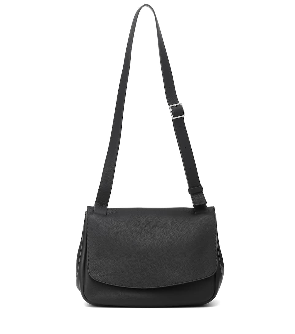 The Row MAIL SMALL LEATHER SHOULDER BAG