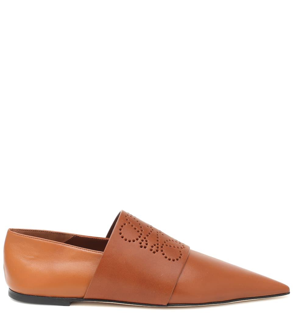 Anagram皮革乐福鞋展示图