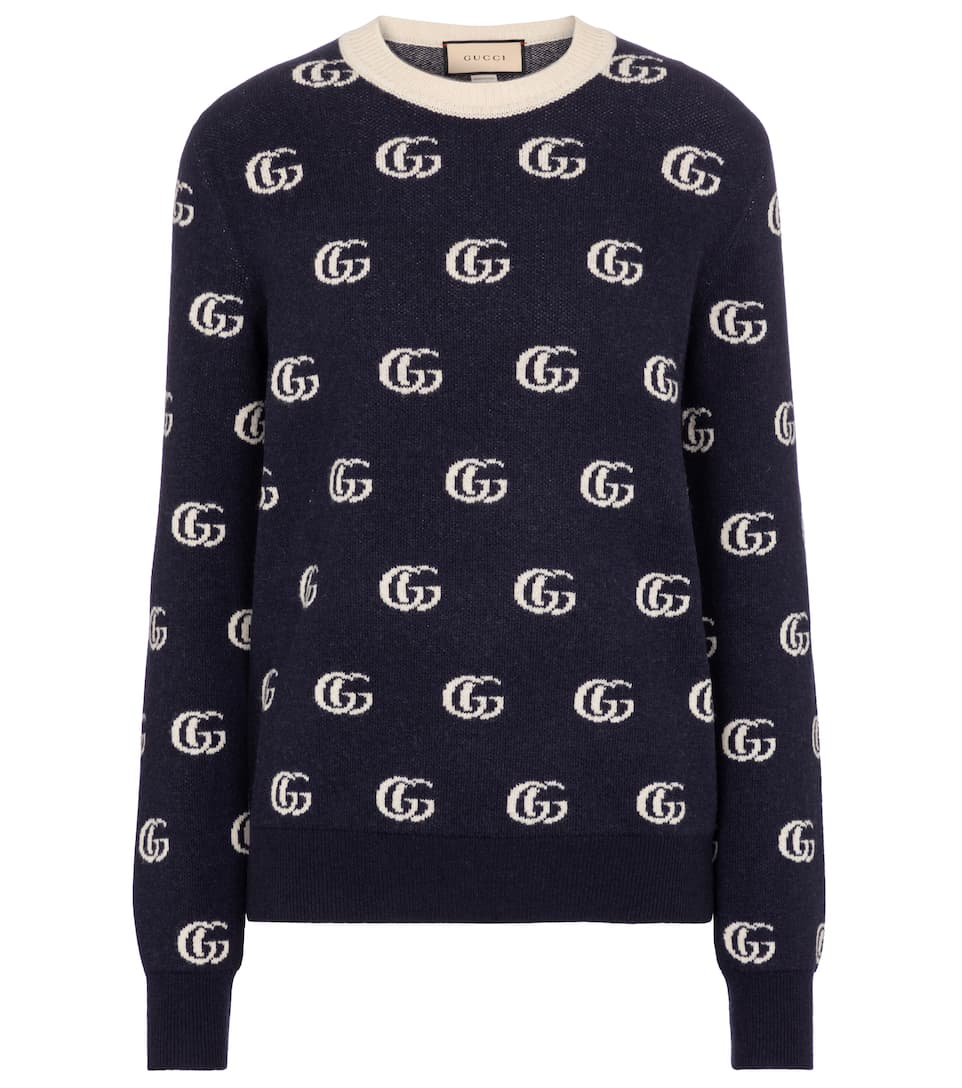 Gucci GG WOOL JACQUARD SWEATER