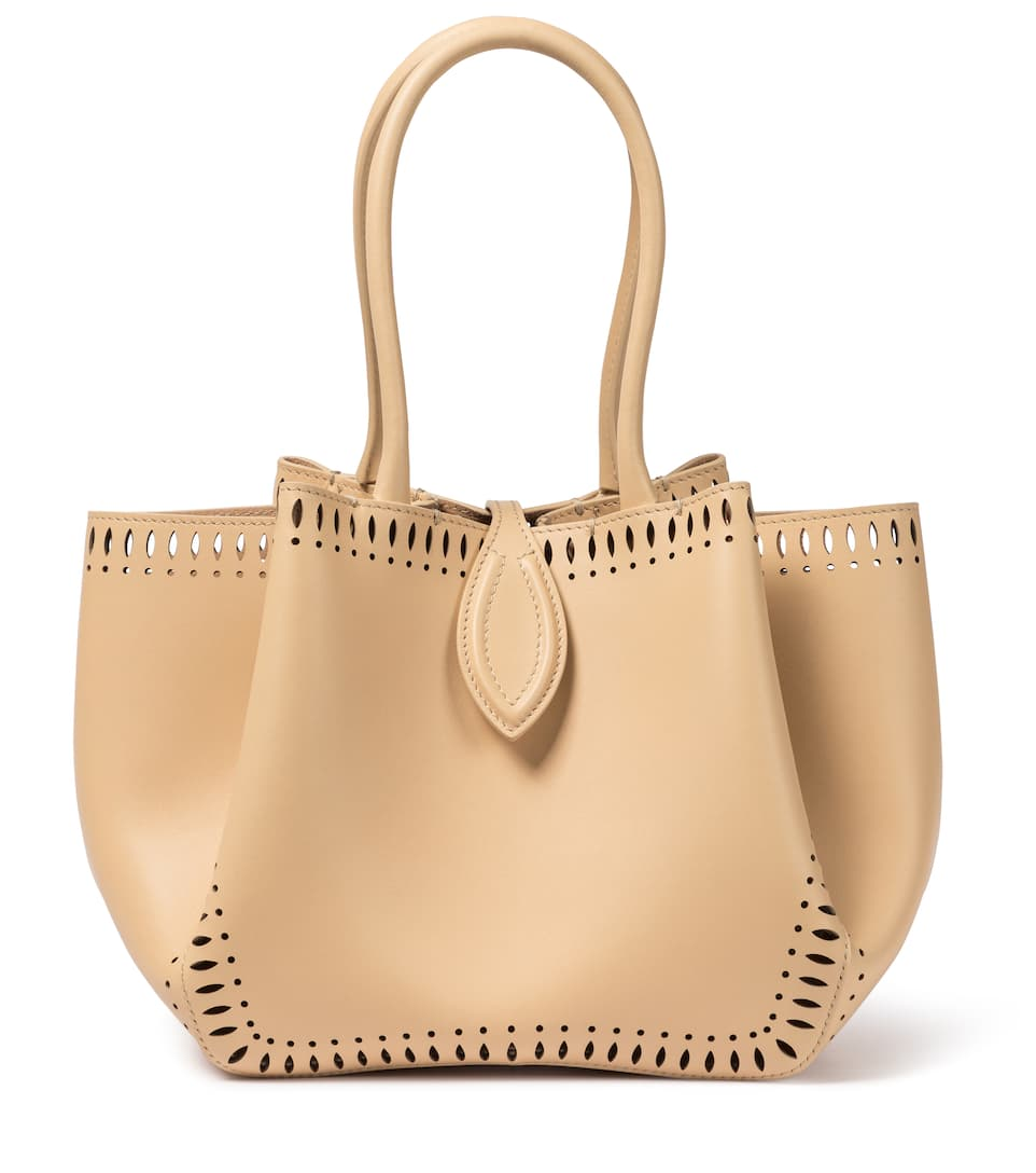 Alaïa ANGELE 20 MINI LEATHER TOTE