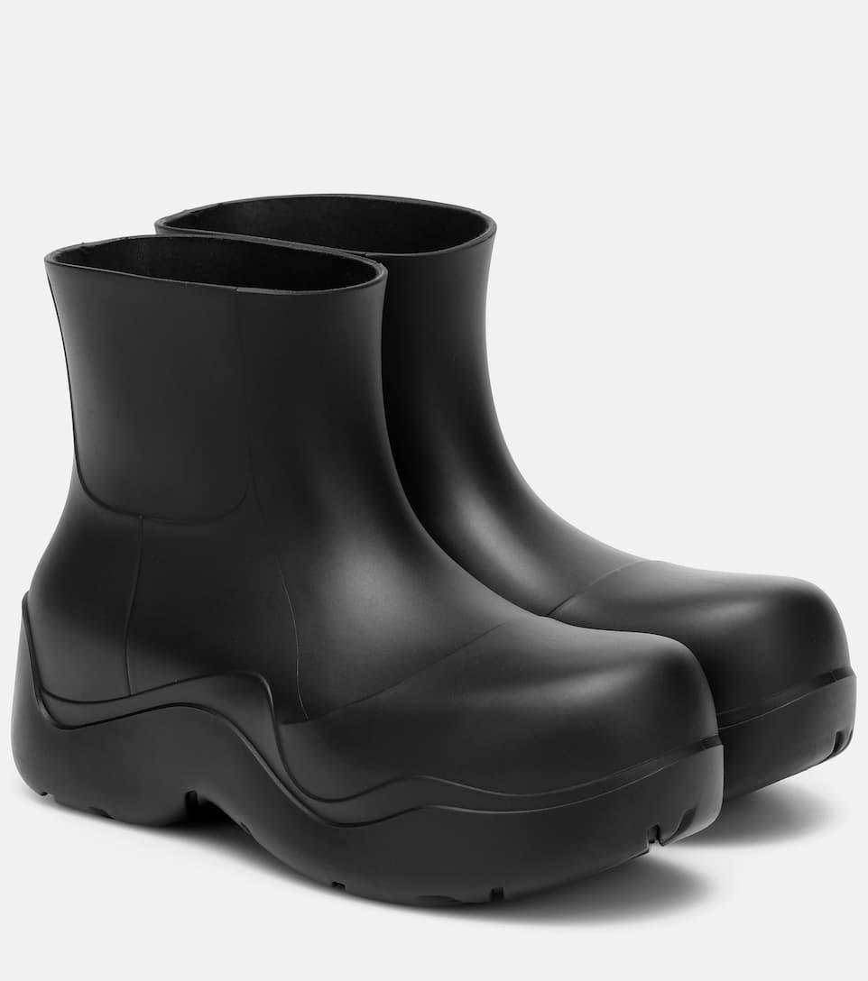 Bottega Veneta Boots BV PUDDLE RUBBER ANKLE BOOTS