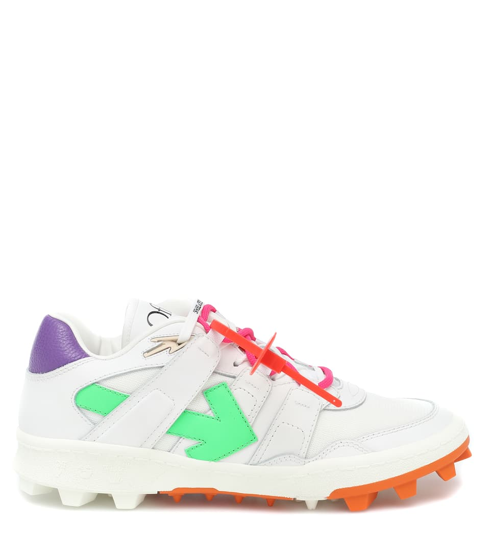 OFF-WHITE Sneakers MOUNTAIN CLEATS LEATHER SNEAKERS