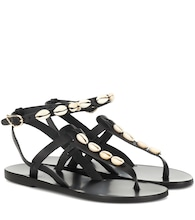 Exclusive to Mytheresa – Estia embellished leather sandals