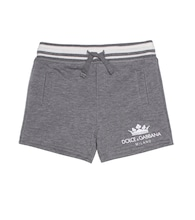 Baby cotton-blend shorts