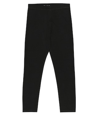Burberry Kids - Logo stretch cotton leggings - mytheresa.com