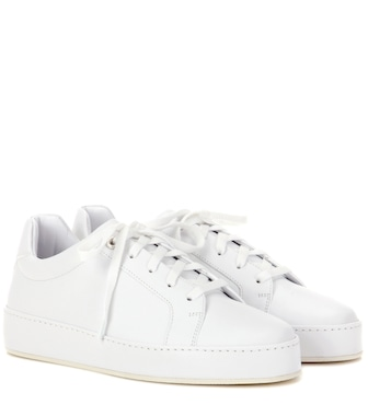 Loro Piana - Nuages leather sneakers - mytheresa.com