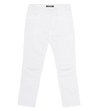 Balmain Kids - Stretch-cotton jeans - mytheresa.com