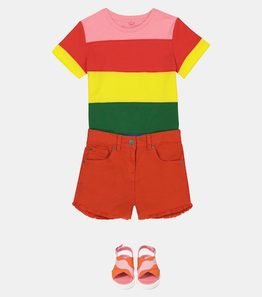 Stella McCartney Kids - Denim shorts - mytheresa.com